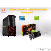 Core 2 Quad + Gigabyte GT1030 Gaming PC